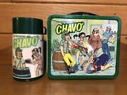 Chavo Vintage Metal Lunch Box El Chavo Lunchbox And Thermos