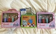 Sanrio Hello Kitty Pez Lunchboxes2/hallmark Bewitched Lunchbox1 Metal New