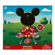 Disney Junior Mickey Mouse Bbq Barbecue Grill Sizzling Sound And Light Play Set
