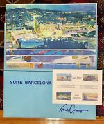 Luis Amer 1943 Rare Barcelona Full Collection - Signed And Numbered Lithographs