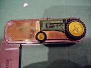 Franklin Mint John Deere Model B Tractor Collector Knife Tag Pouch And Box