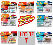Lot Of 7 Johnny Lightning Tow And Go 2019 Release Limited Edition New