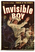 Invisible Boy Approved 2 - 1954 - St. John - Fn- - Comic Book