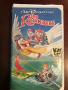 The Rescuers Vhs 1992 Factory Sealed. Black Diamond Edition - Great Find