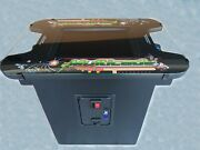 Cocktail Arcade Machine - Led's And Bluetooth Stereo - 412 Games. 2 Available
