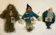 The Wizard Of Oz Dolls Presents 1988/1989 Hamilton Gifts Lot Of 3