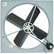 Tpi Belt-drive Exhaust Fan - 36 Blade Diameter - 120v - -1/2 Hp