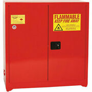 Eagle Wall Or Floor-mount Flammable Liquids Safety Cabinet - 43x12x44 -manual