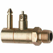 Whitecap F-7060c 1/4 Npt Male Brass Fuel Connector For Yamaha/mariner