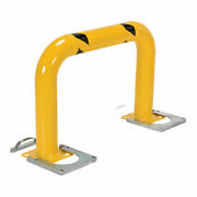 36h X 48 L Removable Steel Machinery Rack Guard Yellow