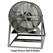 Americraft 36 Tefc Aluminum Propeller Fan With Medium Stand 1 Hp 13000 Cfm