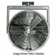 Americraft 18 Tefc Alum Propeller Fan W/ 2 Way Swivel Yoke-1 Hp 4600 Cfm
