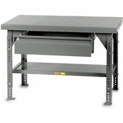 Little Giant 10000-lb. Capacity Workbench - 72x36 Top - With 26x20x6 Drawer