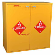 Flammable Cabinet Manual Close 54 Gallon 43w X 18d X 44-5/8h
