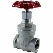1 In. Gate Valve 200 Psi Stainless Steel