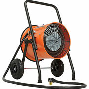Portable Salamander Heater With 8and039l Cord 240v 10kw