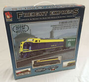 Walthers Life-like Trains Freight Express 47x38 Ho Scale Electric Train Set New