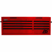 Homak Rd02065800 Rs Pro Series 8 Drawer Red Tool Chest 54w X 23-1/2d X