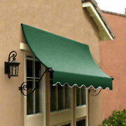Awntech Window/entry Awning 4-3/8and039w X 4-11/16and039h X 3and039d Forest Green