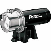 Flotec Stainless Steel Shallow Well Jet Pump 1 Hp Fp4832-08