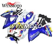 Motocycle Fairing Kit For Suzuki Gsxr 600/750 2008-2010 2009 Blue White Yellow