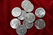 10- United States Eisenhower Dollar Coins Circ Coins Clad Coins Big Ikes