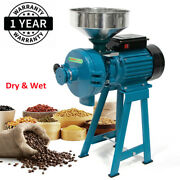 3000w Electric Dry Wet Grain Grinder Mill Corn Cereals Rice Coffee Wheat Mills