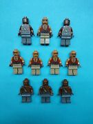 Lego Pirates Of Caribbean Lot Of 10 Minifigures Zombies Yeoman Gunner 4195