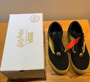 New Old Skool X Harry Potter Golden Snitch Black Gold Yellow Size 13