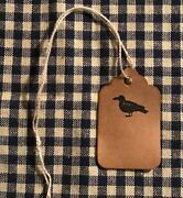 25 Xsmall Crow Coffee Stained Primitive Antique Store Price Gift Hang Tags Lot