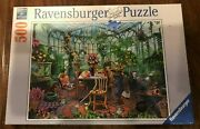 Ravensburger Greenhouse Morning 500 Piece Puzzle For Adults Brand New Sealed
