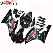 Matte Black Injection Body Kit Fairing Fit For Yamaha Yzf R6 2006 2007 Yzf-600
