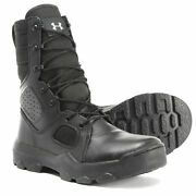 Under Armour Ua Fnp Men 8 Tactical Military Hiking Motorcycle Boots Black 12.5