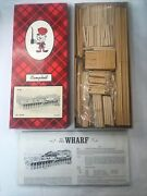 Campbell Scale Models 307-1575 Ho Scale Wharf Building Kit Free Shipping