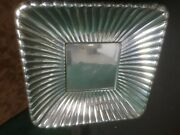 Reed And Barton Sterling Silver Tray Square 1940's  14 Oz  8.75