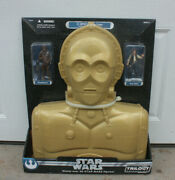 New In The Box Star Wars Trilogy Collection C-3po Carry Case Chewbacca Han Solo