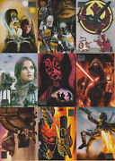Six Star Wars Galaxy Sets Topps 1993 To 2012 - Series 1,2,4,5,7,8 Sets