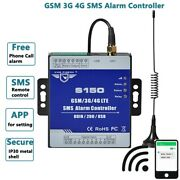 Gsm Alarm Controller Usb Relay Switch 24v Standard Gate Opener Electric Adapter