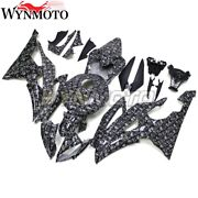 Hydrographic Water Transfer Abs Plastic Fairings For Yamaha Yzf R6 2008 14 2016