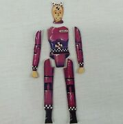Crash Test Dummy Game Replacement Darla Pink Body Parts Dummies Set 1992 Tyco