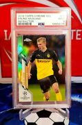 2019-20 Topps Chrome Ucl Erling Haaland Refractor Rookie Card Rc 74 Psa 9 Y84