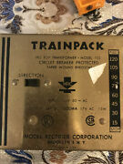Vintage Ho Scale Mrc Hobby Transformer Power Pack Model 100 With Rails And Train