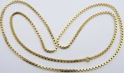 Heavy 18 Carat Solid Gold Chain 25.2 Grams. 27.5 Long Yellow Gold Neck Chain.