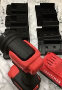 4 Complete Sets 8pcs Of Battery And Tool Holders For Craftsman 20v. Free Ship