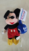 Disney Store 8 Hanukkah Mickey Mouse Bean Bag With Dreidel And Tag