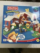 Fisher Price Little People Animal Sounds Farm Sealed New In Box Sated 2000 Nib