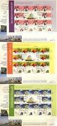 Israel 2010 Stamp Imperforate Sheets Fdcand039s Innovations China Expo Very Rare Xf
