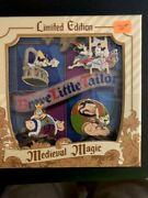 Disney Pin Brave Little Tailor In Box Set 0f 4 Pins