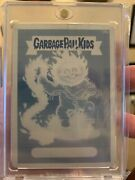 2014s2 Topps Garbage Pail Kids Gpk C Card Printing Plate 126c Danny Catch Up