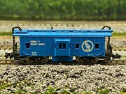 N Scale - Con-cor Great Northern Bay Window Caboose Gn 3810 N4229